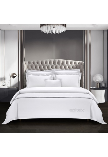 Epitex white Cressent Dale Signature Collection  CR2303 1600TC Supremely Egyptian Cotton (White) B9E42HL0A7A1EEGS_1