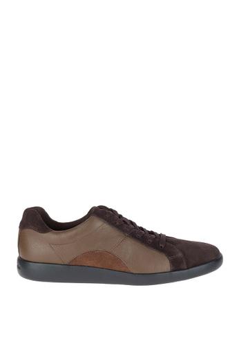 Hush Puppies brown Groovy Hitch Casual Shoes HU326SH0KMQWPH_1