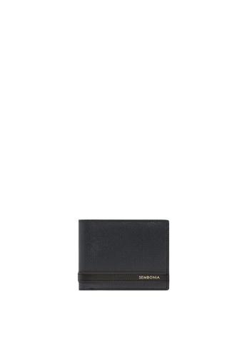 SEMBONIA black SEMBONIA Men Leather Wallet (Black) 64BEBAC20E6461GS_1