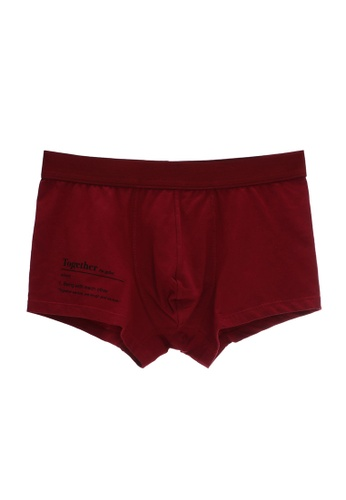 6IXTY8IGHT red Men's Shorty Brief PT07946 A9487US9AD01C7GS_1