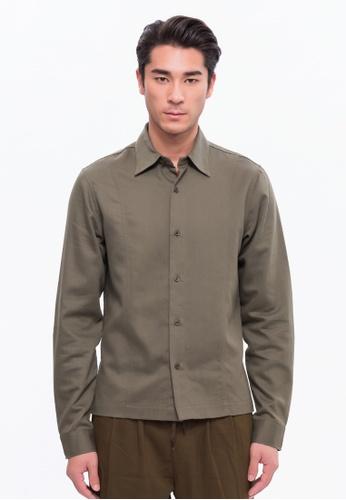 Alpha Style green Ackley Shirt Jacket AL461AA0FVCHSG_1