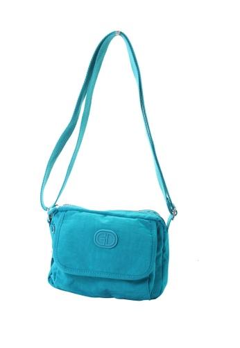 G.DAVIN blue G.Davin Nylon Crossbody bag 4DE62ACAC234FAGS_1