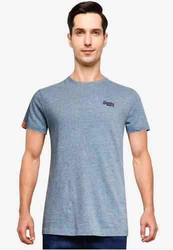 Superdry blue Orange Label Vintage Embroidered T-Shirt - Vintage Logo Emblem 0330FAA15F84AFGS_1