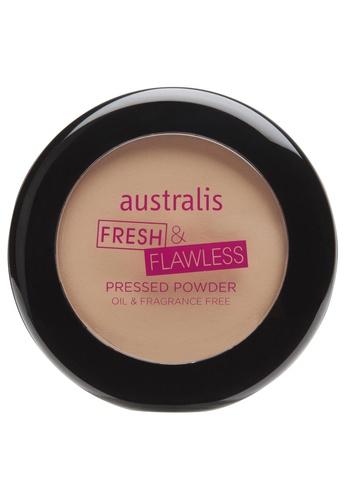 Australis Australis Fresh n Flawless Pressed Powder Medium Tan AU782BE0FV3NSG_1