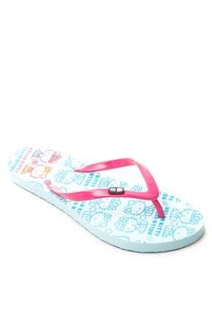 Hello Kitty Doctor Kitty Health Companion Flip Flops