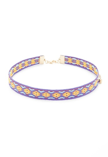 LUCCACAL Tribal Pattern Choker LU294AC40NKPMY_1