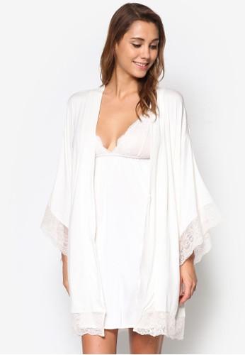 Serafinesprit hk storea 和風裹飾睡裙罩衫, 服飾, 睡袍