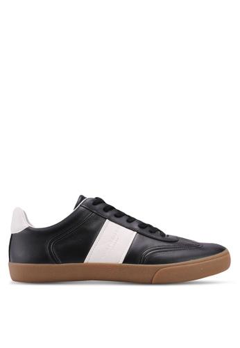 KG Kurt Geiger black Alverez Leather Sneakers FB93BSH3B94523GS_1