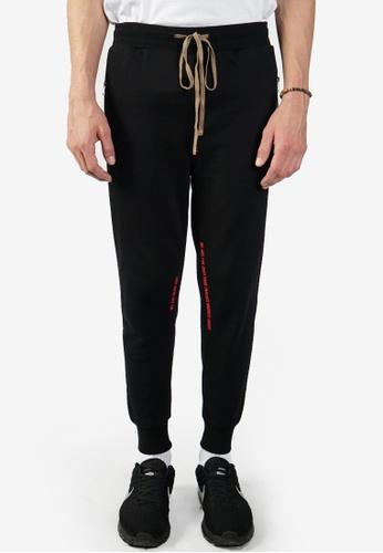 Nerdunit black Nerdunit Tag Jogger Pants D51ECAAA9A13ECGS_1