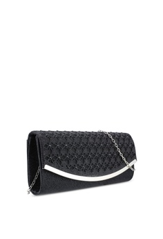 c95cce59d1 25% OFF Unisa Glittering Stones Embellishment Perforated Facile Dinner  Clutch RM 99.00 NOW RM 74.25 Sizes One Size