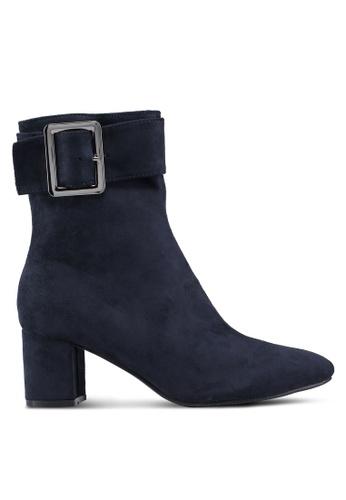 Twenty Eight Shoes 藍色 麂皮靴 F442DSHC9C7EB9GS_1