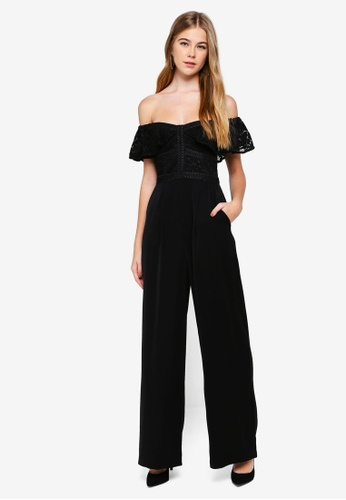 c959c2b189 Buy Forever New Misty Off The Shoulder Jumpsuit Online on ZALORA ...