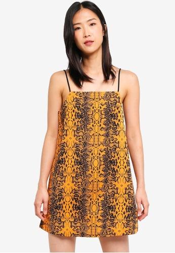 Factorie multi Printed Slip Dress 44509AAE612FB7GS_1