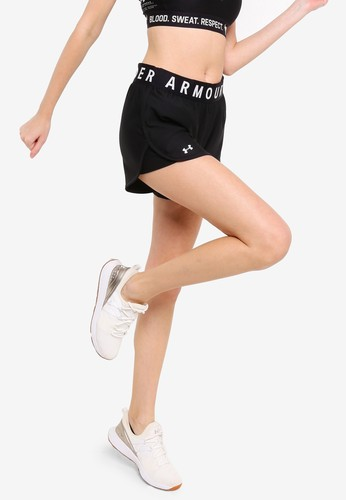 Under Armour black Play Up 5In Shorts 62F25AA90A6C43GS_1