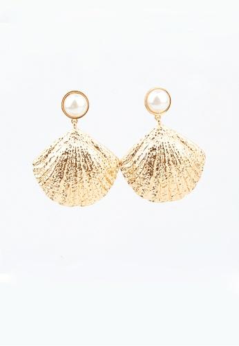 Urban Outlier gold Fashion Earrings C20398 997B6ACC4CEA31GS_1