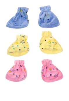 Starbright Colored Booties Set of 6