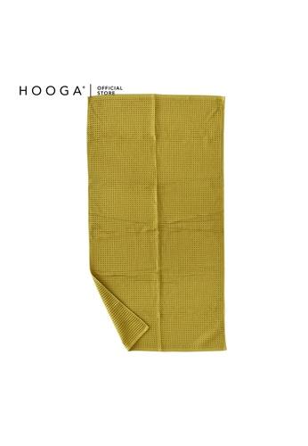 HOOGA yellow Hooga Bath Towel Hadlee (Bundle of 2) 1DFDFHL2213036GS_1