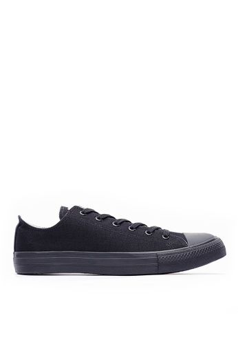 Life8 black Casual canvas sneakers-09698-Black LI283SH0GP09SG_1