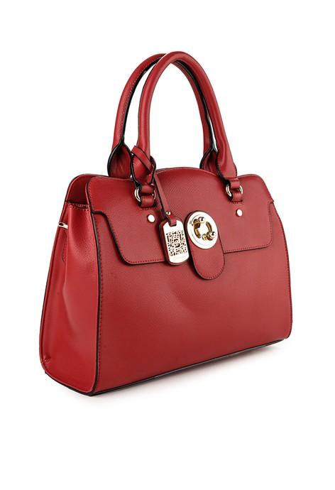 Jual Tas BELLEZZA Wanita Original ZALORA Indonesia Source · Bellezza 61509 01 Handbag Red BUY 1 GET 1 FREE