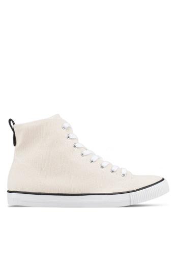 Calvin Klein white Arthur Sneakers E2BB6SH676FC9CGS_1