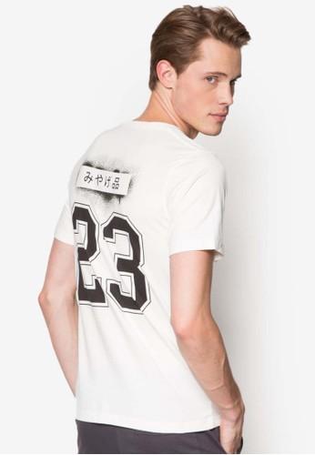 模板數字設計TEE,esprit au 服飾, T恤