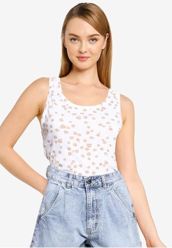Cotton On white Little Sister Pointelle Tank Top 27975AA30EF392GS_1