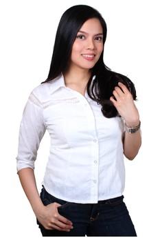 Jade Fashionable Ladies Work Shirts/Formal Shirt