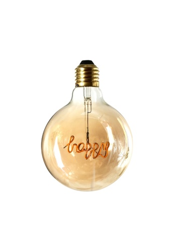 Klosh Zogi Air Decorative LED Word Bulb - Happy 1EE49ES4A54E8DGS_1