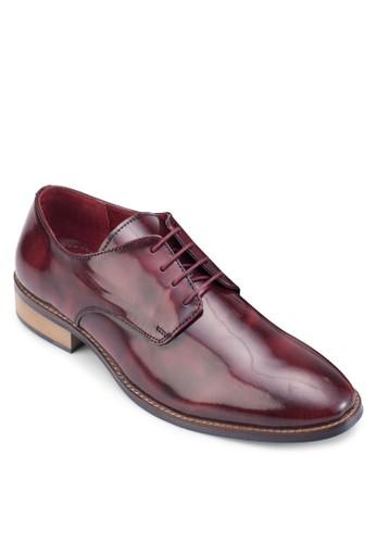 esprit香港門市漆皮繫帶皮鞋, 鞋, 皮鞋