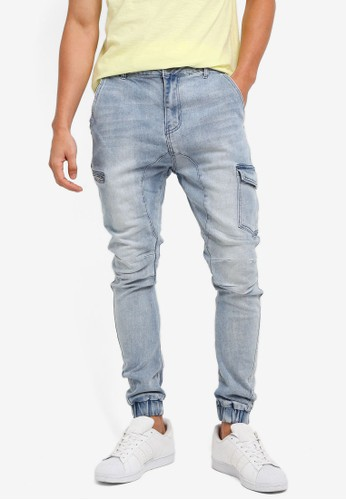 Factorie blue The Utility Joggers 9D9F2AADE19B05GS_1