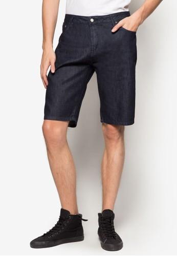 水洗丹寧短褲, 服飾, 短尖沙咀 esprit outlet褲