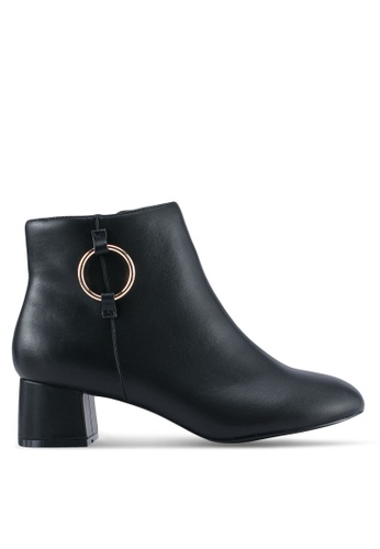 Dorothy Perkins black Black 'Anita' Ankle Boots DO816SH0T06AMY_1