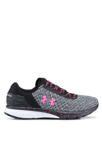43d47932e16 Under Armour black UA W Charged Escape 2 Running Shoes FD9FFSH08FCBFAGS 1