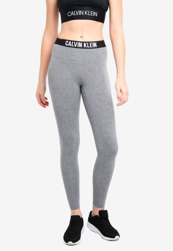 Calvin Klein grey Ckp Wb Fl Leggings - Calvin Klein Performance E0EADAAB196D27GS_1