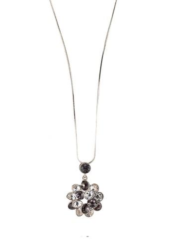 Megane silver Koilen Rosil Necklace 09017AC811F7CBGS_1
