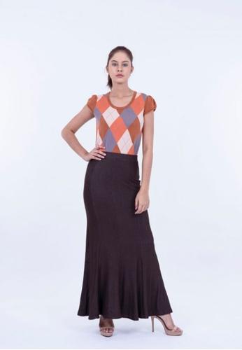 Ladies Jeans brown British Style New Winter Skirt 9FC8AAA0B7CA9FGS_1