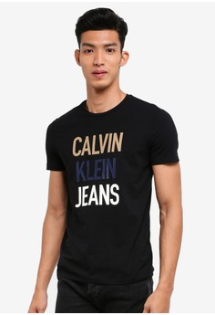 Fashion Logo Slim Tee - Calvin Klein Jeans