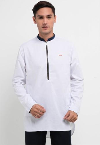 Emba Jeans white Ezar Qurta D46C6AA92054C1GS_1