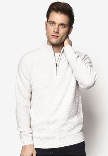 半拉鍊高領長袖衫,esprit 折扣 服飾, 服飾