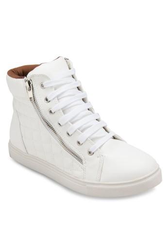 格紋軟襯高通休閒鞋, 女鞋esprit hk分店, 鞋