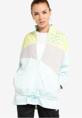 New Balance white Achiever Mix Media Jacket FB852AAB99369FGS_1