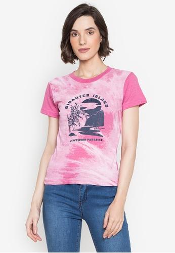 Artwork pink Gigantes Paradise T-Shirt B7FCAAA46B685BGS_1