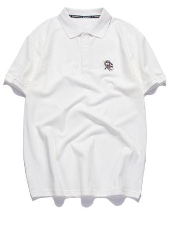 HAPPY FRIDAYS 簡約休閒刺繡Polo恤 RS1203 7488FAA1BF46F3GS_1