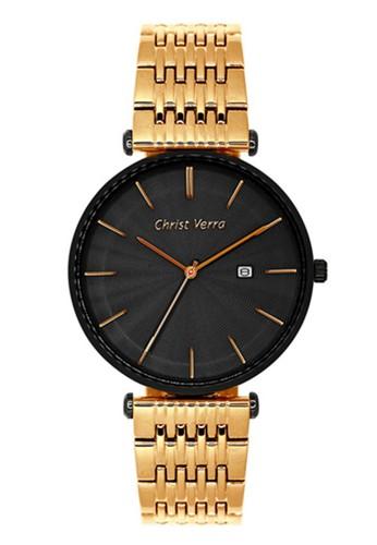 Christ Verra gold Christ Verra Women's Watches CV 71156L-18 BLK 8DF82AC8AC36E4GS_1