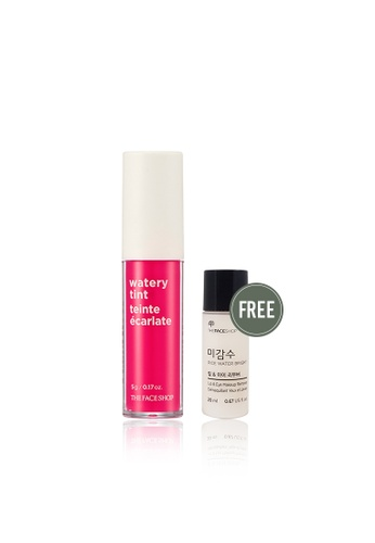 THE FACE SHOP pink Watery Tint 01 Pink Bella A1E75BE7F39F7FGS_1