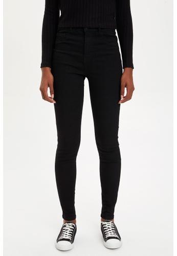 DeFacto 黑色 Woman Trousers D3F7FAA5F9DFE5GS_1