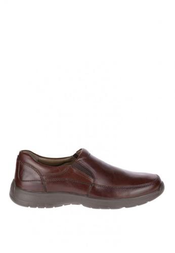 Hush Puppies brown Lorcan Henson Casual Shoes HU326SH0KMQTPH_1