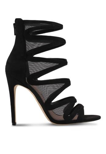 ALDO black Coppolino Heeled Sandals A121CSH104E8DBGS_1