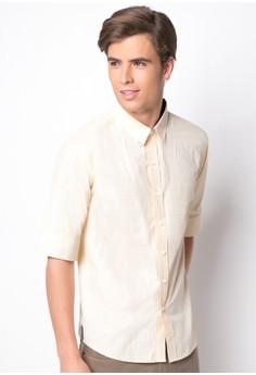 Merlion Button-Down Shirt
