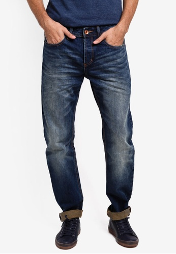 Superdry blue Copperfill Loose Jeans SU137AA0T22FMY_1